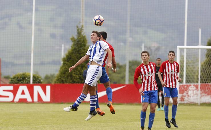 Sporting 3 - 1 Real Sociedad en Copa del Rey Juvenil