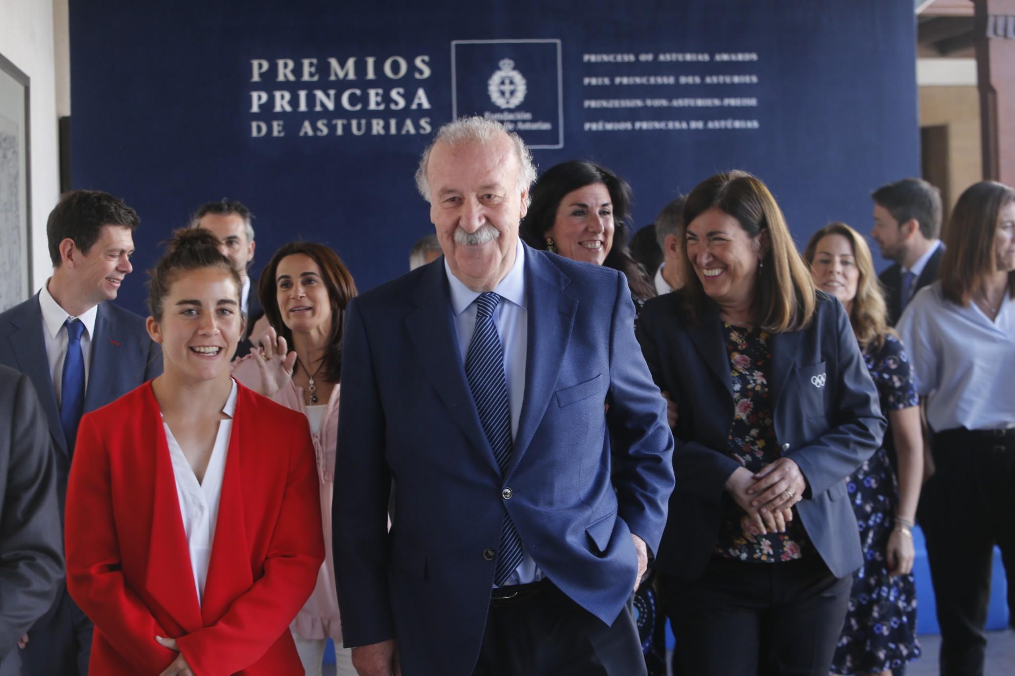 Reunión del jurado del Premio Princesa de Asturias de los Deportes