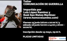 Juventud Gijón organiza el taller «Comunicación de guerrilla»