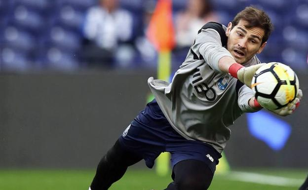 Iker Casillas.