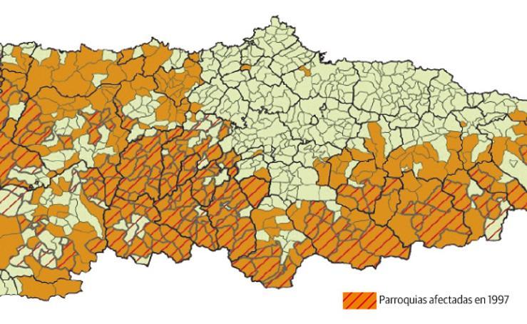 Expansión del lobo en Asturias