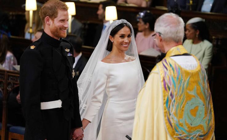La gran boda del príncipe Harry y Meghan Markle, en imágenes