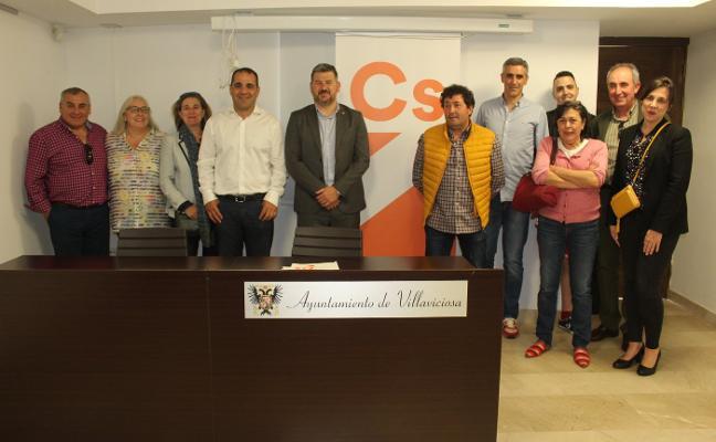 Moisés Vecino presidirá la agrupación de Ciudadanos en Villaviciosa