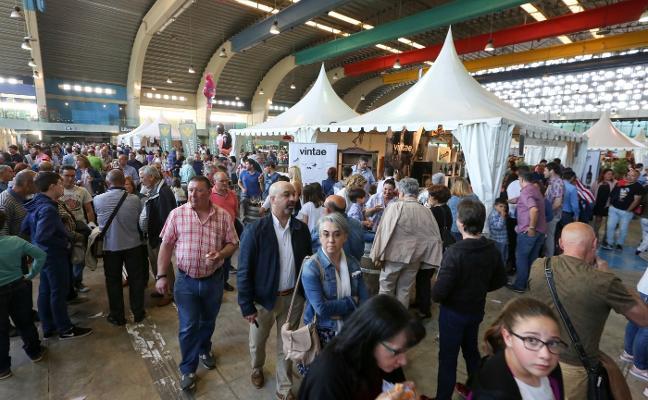 La Feria del Queso y el Vino cierra con un ligero descenso de público