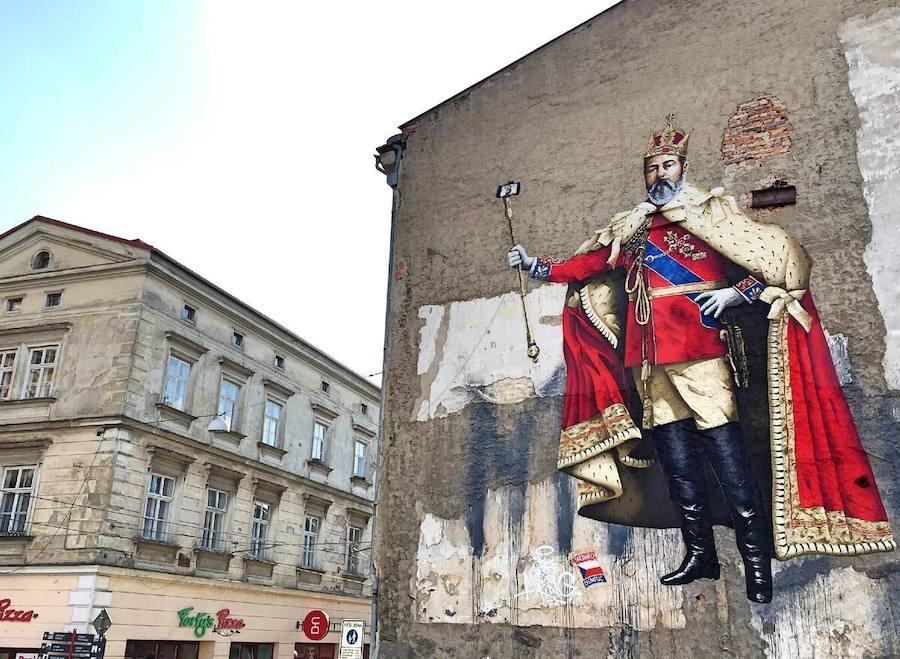 Los graffitis se suben a Metrópoli