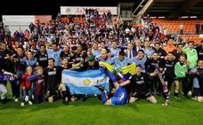 El Huesca sube a Primera División
