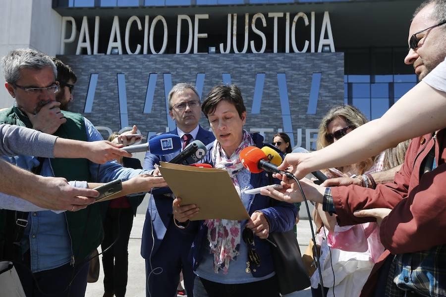 Jueces y fiscales asturianos secunda la huelga nacional