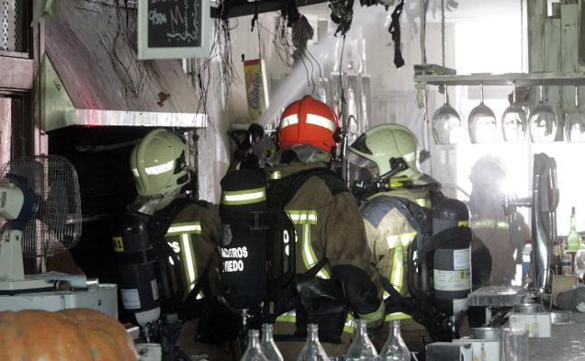 Susto por un incendio en Vallobín