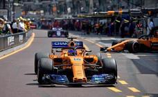 Fernando Alonso: «Salimos a la crono tirando una moneda al aire y ha ido muy bien»