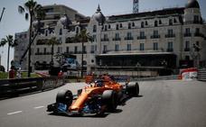 Ricciardo logra la 'pole' en Mónaco y Alonso queda séptimo