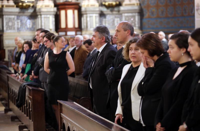 Multitudinario adiós a la exedil socialista Begoña Pérez