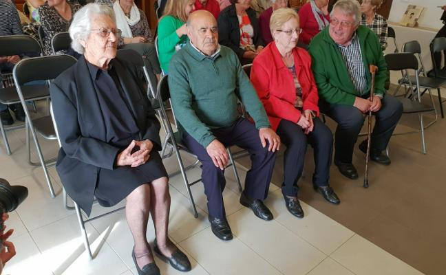 Homenaje a los mayores de Laviana
