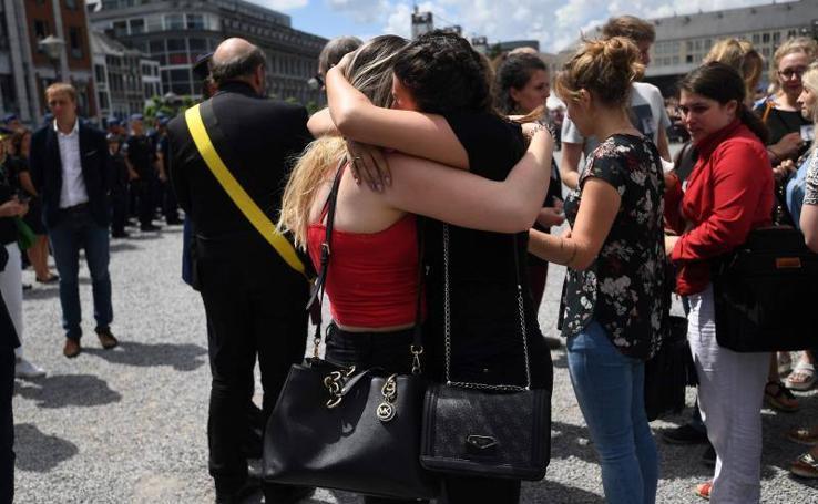Bélgica llora a las víctimas del ataque de Lieja