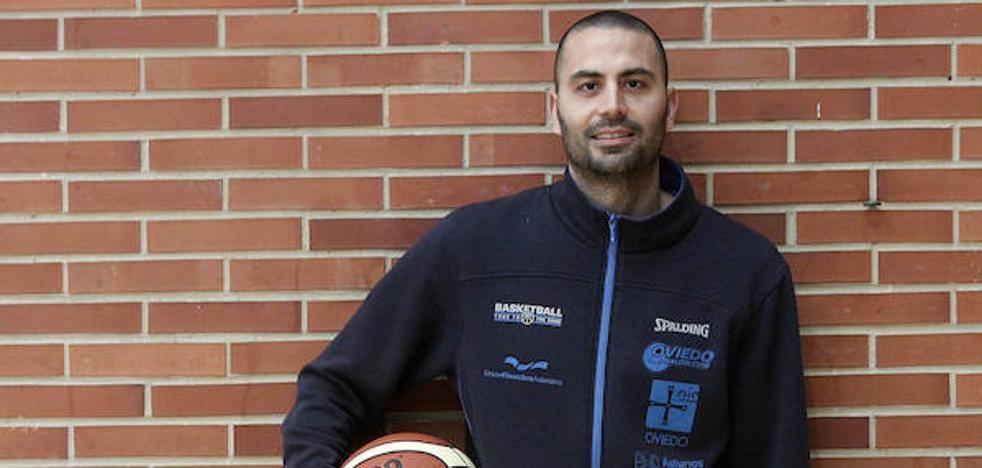 Javi Rodríguez, nuevo entrenador del Oviedo Baloncesto