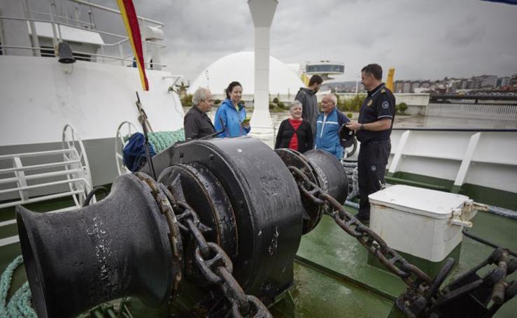 El buque Petrel I, azote del narcotráfico