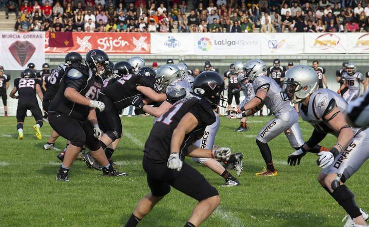 La Liga Nacional de fútbol americano es para el Badalona Dracs