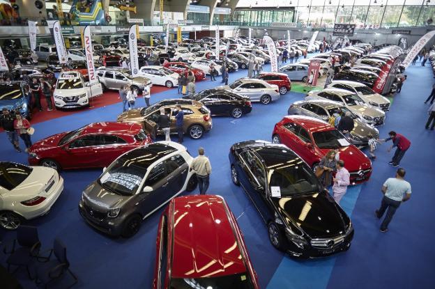 La Feria de Vehículos de Ocasión celebra hoy su jornada de clausura
