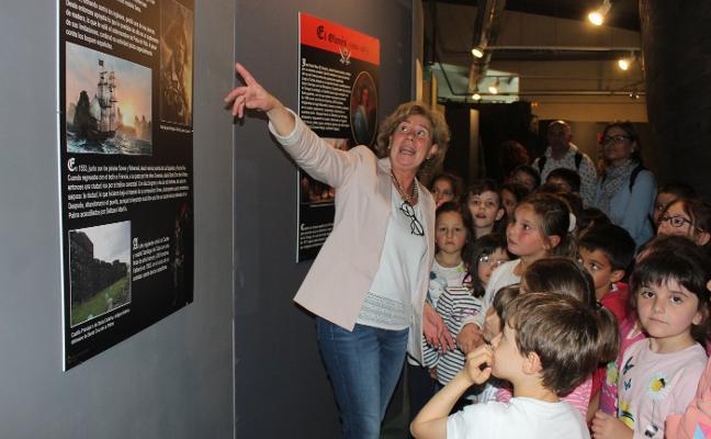 El Museo Marítimo recibirá la visita de un millar de niños antes de fin de curso