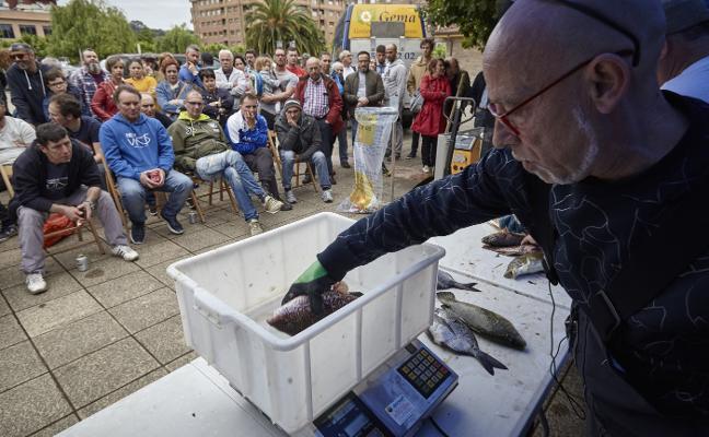 El Memorial del GEAS se salda con 250 kilos de pescado