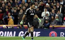 Tres partidos de sanción para Buffon por su expulsión ante el Madrid