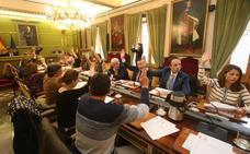 Resultado de imagen de pleno del ayuntamiento de oviedo, el comercio
