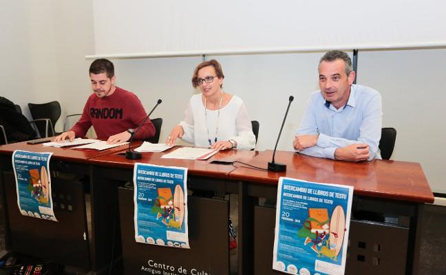 El plan de intercambio de libros de Gijón aspira a superar los 4.000 usuarios de 2017