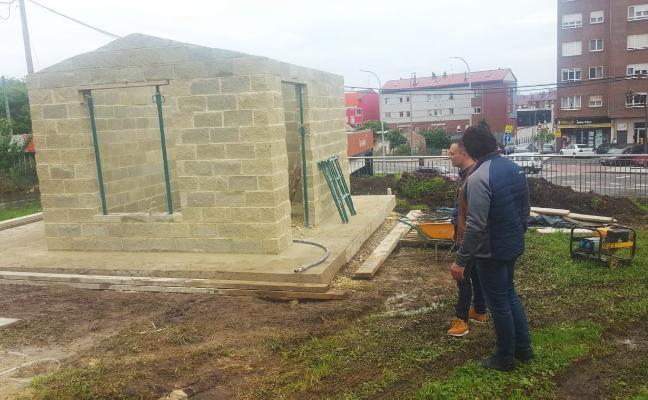 El Ayuntamiento habilita una parcela en Los Campos para prácticas de planes de empleo