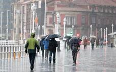 Asturias, en aviso amarillo por precipitaciones