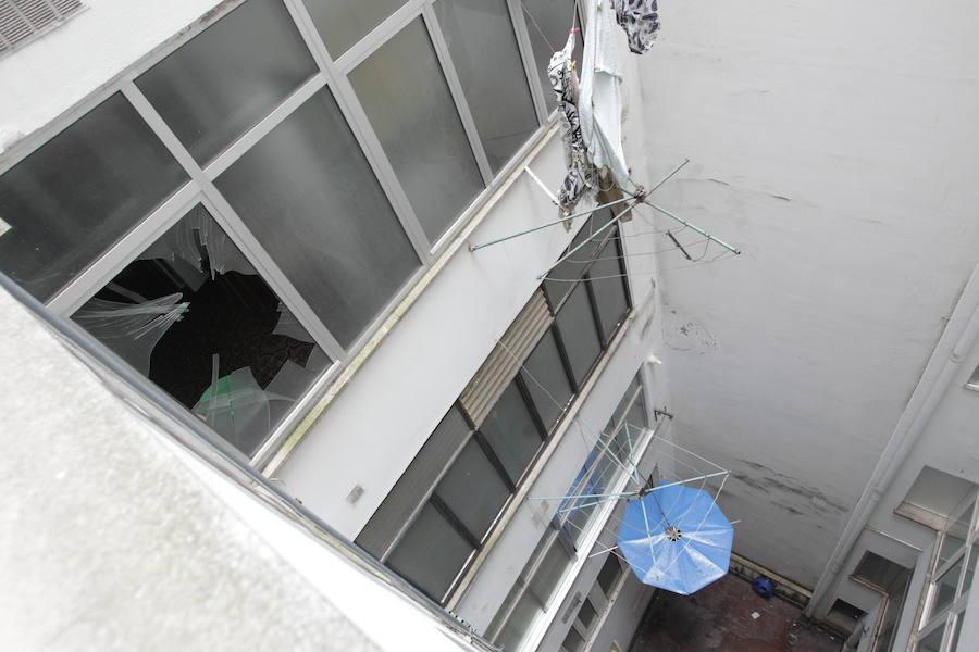 Un menor de Oviedo grave tras caer desde un sexto al intentar entrar a su casa por la ventana