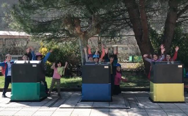 El colegio de Barredos gana un concurso de Cogersa con un vídeo