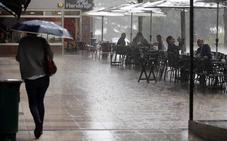 Asturias registra este viernes las lluvias más intensas de España