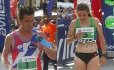 David Ginzo y Adela Villa quieren repetir triunfo en los 10 kilómetros de Avilés