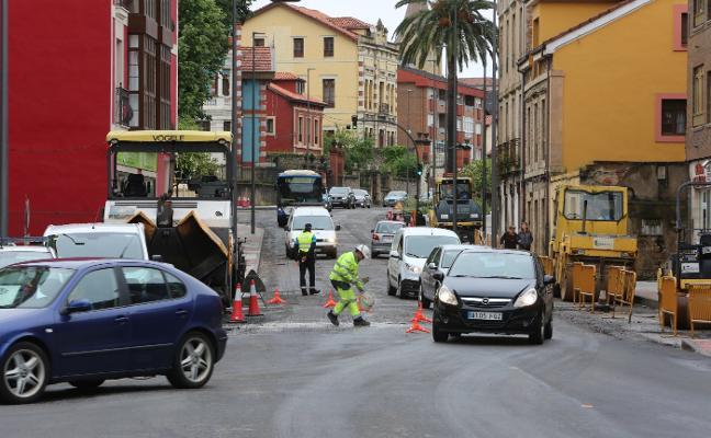 El asfaltado de Santa Apolonia se completará la próxima semana