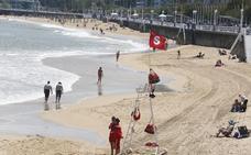 Gijón quitará mañana la bandera roja de San Lorenzo