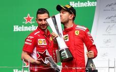 Vettel vuelve a las andadas