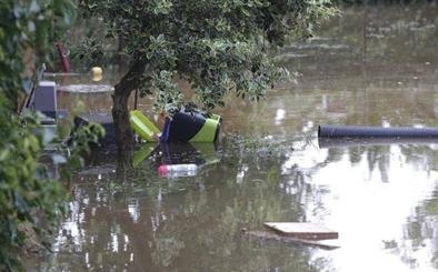 Estas son las zonas afectadas por la inundaciones en Gijón