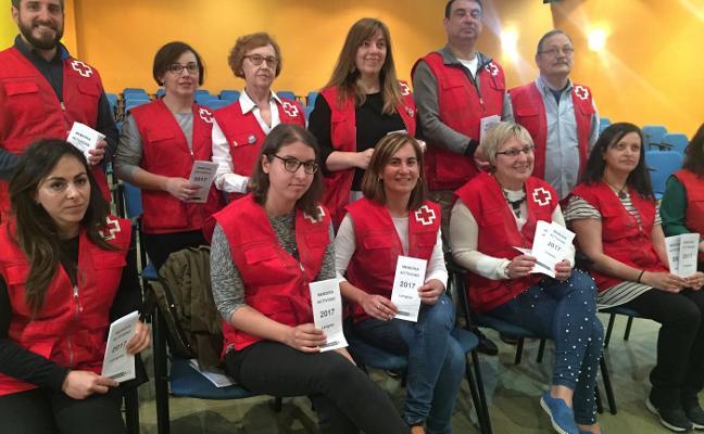 Cruz Roja de Langreo reclama ayuda ante la actual «depresión social y económica»
