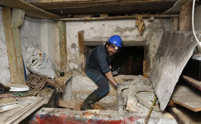 400 metros de túneles en el refugio antiaéreo de Cimavilla