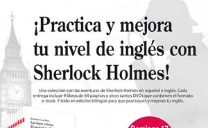 Práctica y mejora tu nivel de inglés con Sherlock Holmes