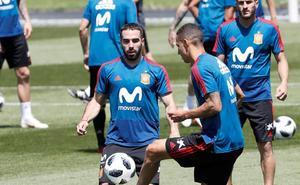 Carvajal ya trabaja con el grupo