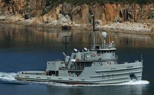El remolcador 'Mahón' hará escala en Avilés el fin de semana
