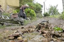 Trubia sigue haciendo balance de daños tras las inundaciones