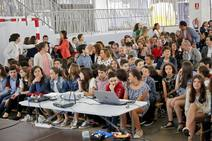 Despedida de los alumnos de sexto de Primaria del Colegio Jovellanos de Gijón