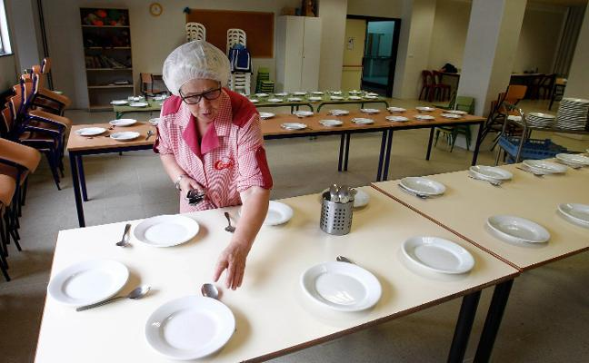 El coste del menú del comedor escolar crecerá hasta un 40%, según las ofertas presentadas
