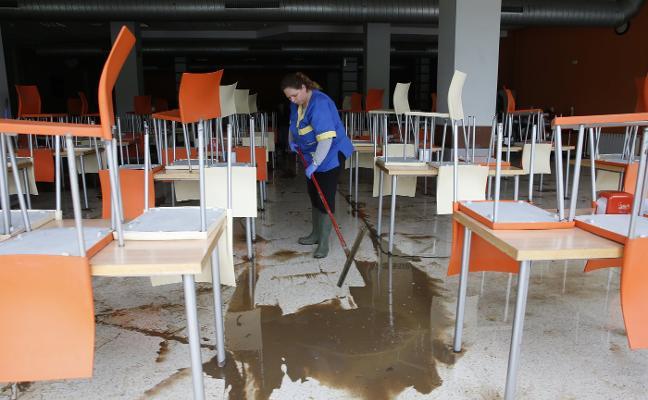 Los daños en la Escuela Politécnica de Ingeniería superan el millón de euros