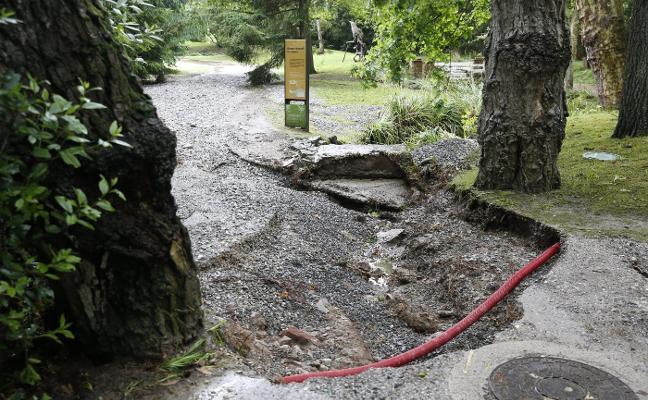 El Jardín Botánico cierra la finca La Isla «por motivos de seguridad»