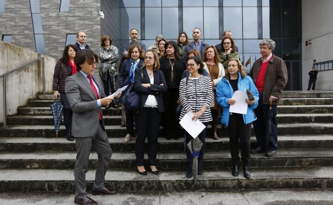 Los letrados de la administración de Justicia reclaman mejoras salariales