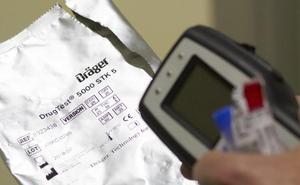 Siete de los ocho controles de droga realizados a conductores dieron positivo