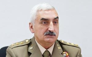 El delegado de Defensa en Asturias, Vicente Bravo, en la tertulia L' Alderique