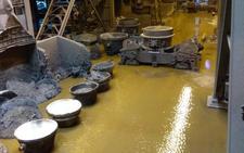 La planta de Arcelor en Avilés estará inactiva hasta el sábado por los daños de las riadas
